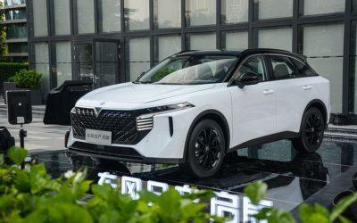 Nissan và Dongfeng trình làng mẫu SUV mới với tên gọi Venucia V-Online